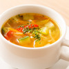 時間のないママ必見!栄養満点の10分でできる具だくさんスープ♡