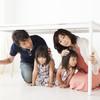 赤ちゃん・子どもと一緒に家にいるときに地震があった時の対処法は?~お家編~