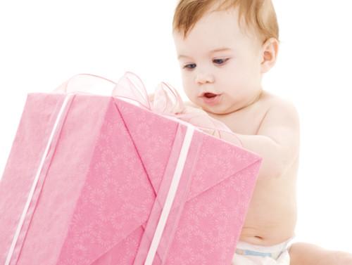 赤ちゃんのクリスマスプレゼント