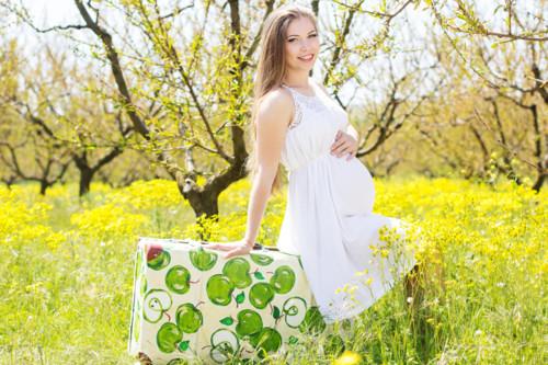 妊娠8ヶ月のプレママ