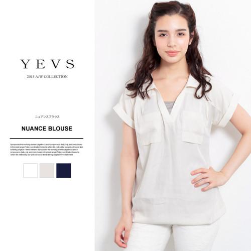 YEVS Wポケットシャツ
