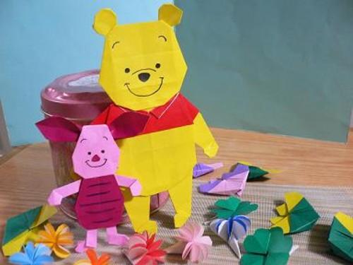 すべての折り紙 折り紙 折り方 キャラクター ディズニー : ... 折り紙で!キャラクター折り紙
