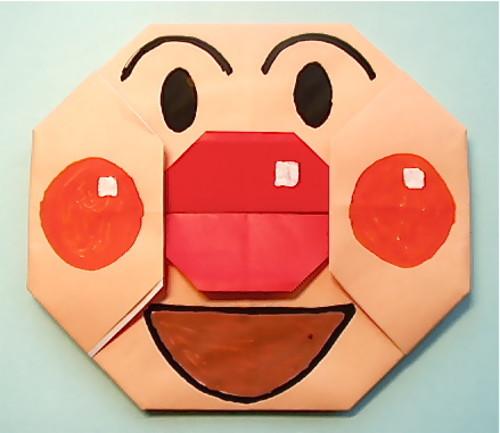ハート 折り紙 折り紙アンパンマン作り方 : divulgando.net