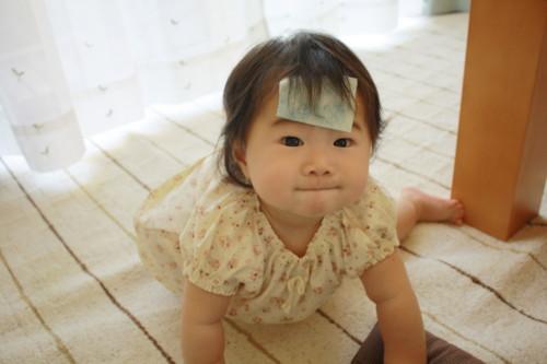 ロタウイルスになった赤ちゃん