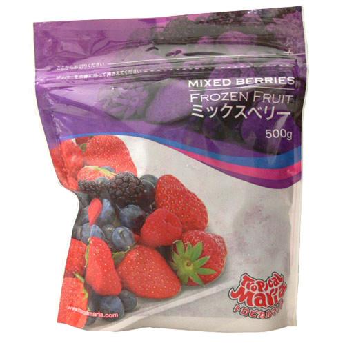 ミックスベリー(苺・ブルーベリー・ブラックベリー・ラズベリー) 冷凍