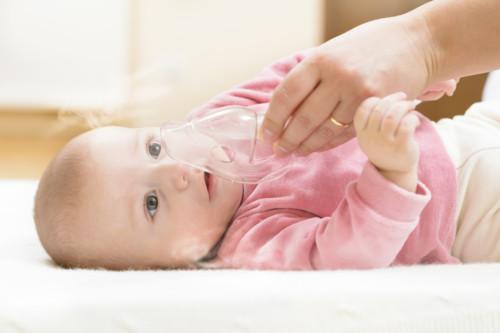 喘息の子供