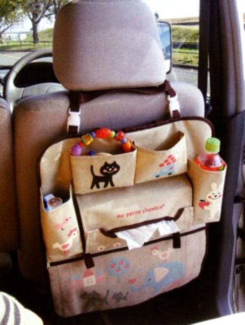 【DECOLE/デコレ】ma petite chambre おでかけポケット|車内の収納 おでかけポケット 小物入れ お出かけグッズの整理
