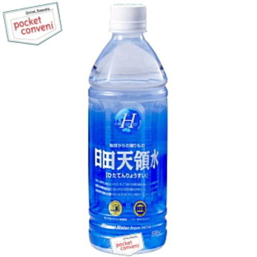 日田天領水ミネラルウォーター 500mlペットボトル 24本入