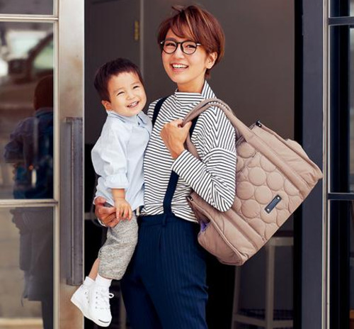 【赤すぐ限定】PLAYERS×ママ隊コラボ マザーズバッグ
