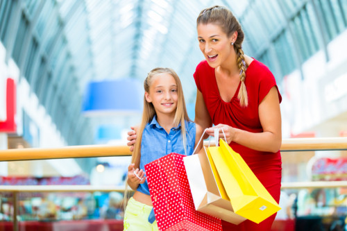 買い物 ママ