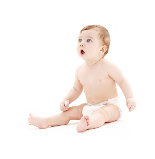 驚き 赤ちゃん
