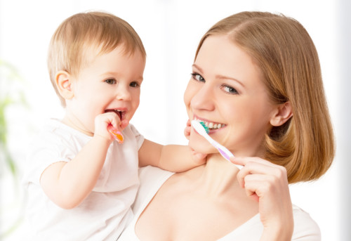 赤ちゃん 歯磨き