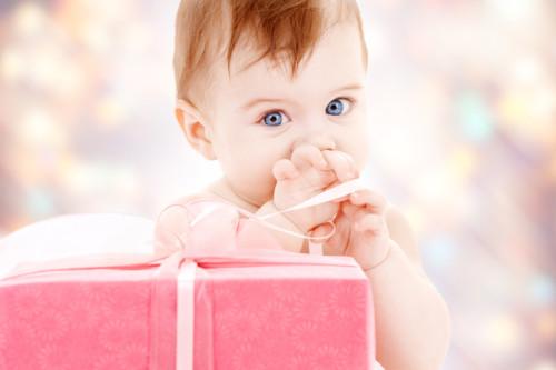 プレゼントと赤ちゃん