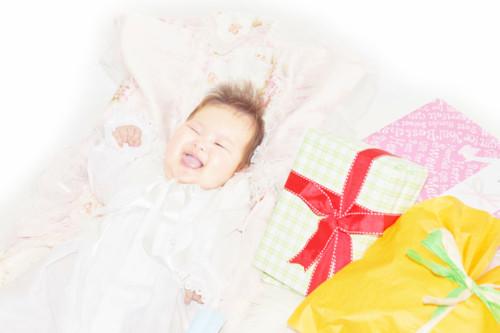 赤ちゃんの出産祝い
