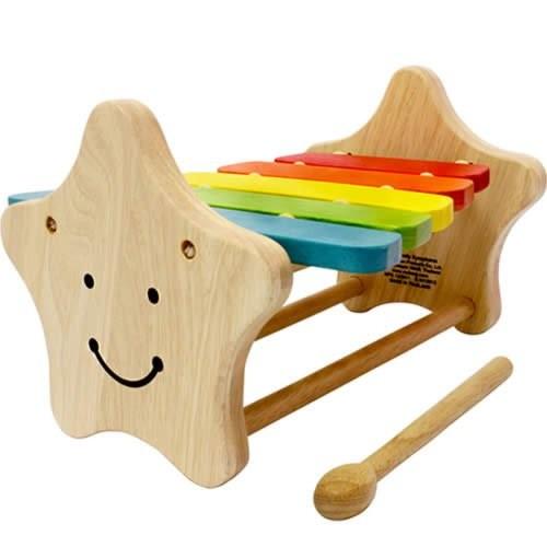 スマイリーシロフォン楽器 おもちゃ 木 音楽 シロホン シロフォン 木琴 赤ちゃん ベビー 出産祝い 玩具【2013】