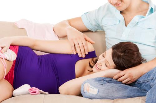 妊婦 家族