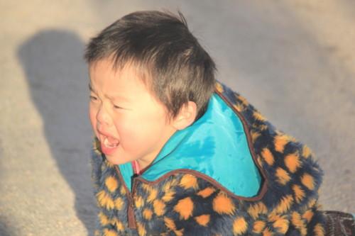幼児 泣く 日本人