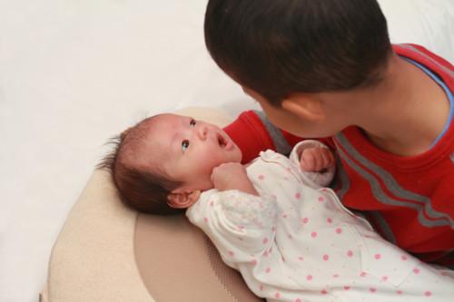 兄妹 日本人 幼児