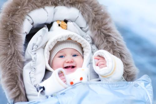赤ちゃん 冬