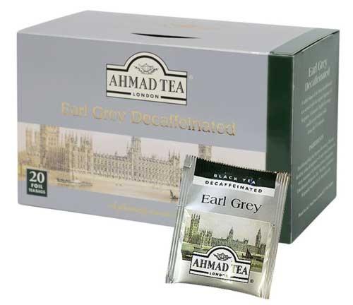 AHMAD TEA Teabag デカフェアールグレイ (20袋入り)