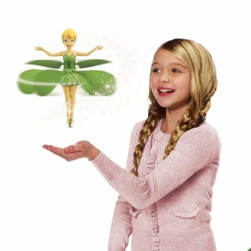 ティンカーベル グッズ ディズニー おもちゃ フィギュア 空飛ぶ人形 サイエンストイ 科学おもちゃ フラッターバイフェアリー