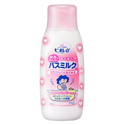 花王 ビオレu 家族みんなのすべすべバスミルク ほのかでパウダリーな香り 本体600ml