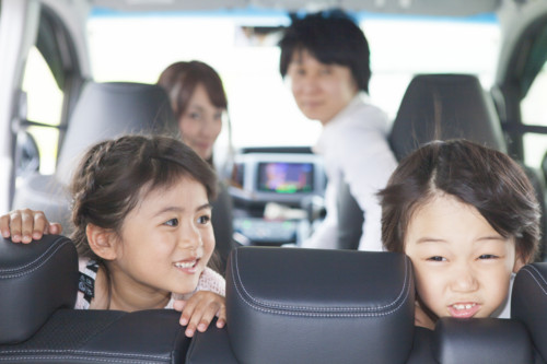 ドライブ 子供