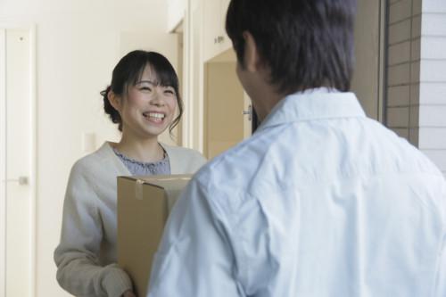 宅配 日本人