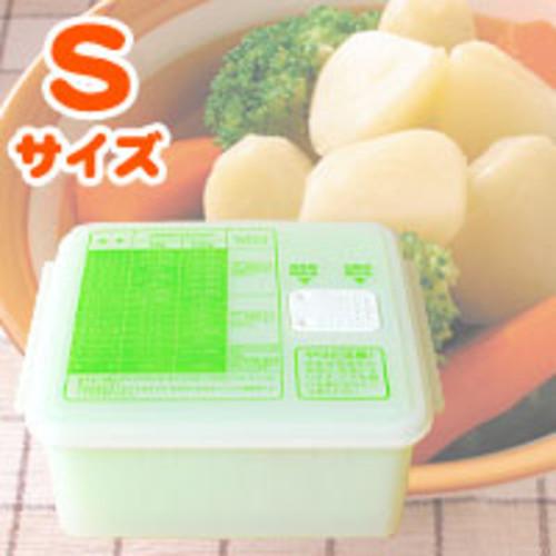 電子レンジで温野菜 ゆで野菜調理ケース