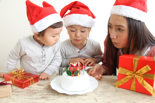 クリスマス 家族 日本人