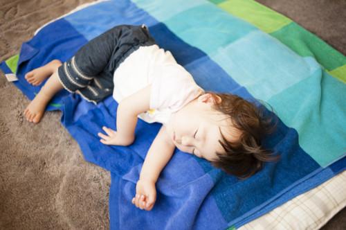 1歳 寝る
