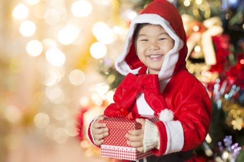 クリスマス 男の子 日本人