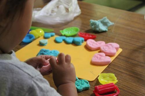 ... 遊ぼう「小麦粘土」の作り方♡ : 小麦粘土の作り方 : すべての講義