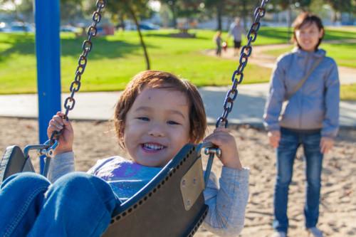 子供 3歳 外遊び