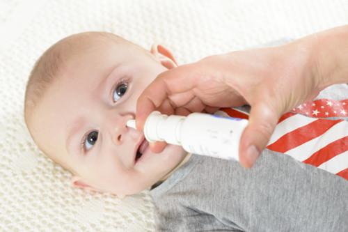 鼻水が出る赤ちゃん