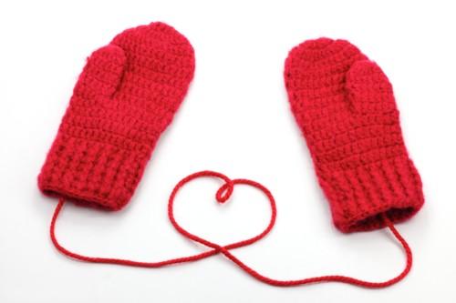 紐付き 手袋