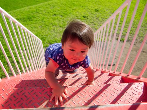 赤ちゃん 階段