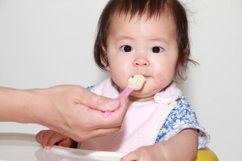 離乳食初期から摂取できるタンパク質を含む離乳食♡