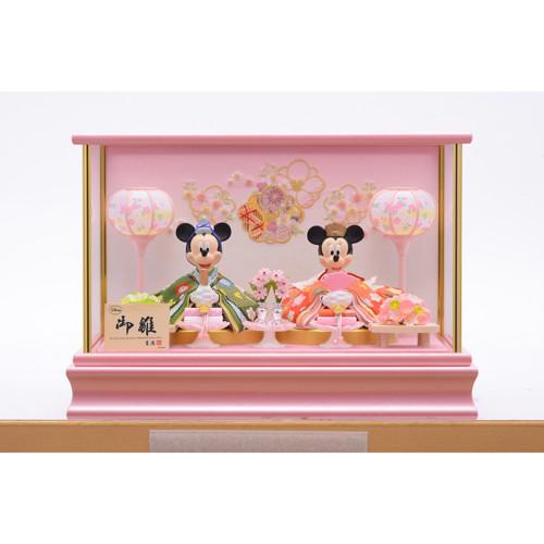 ミッキー&ミニープレミアムひな人形
