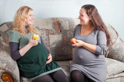 妊婦の友達