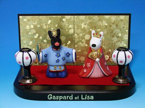 リサとガスパール おひなさま