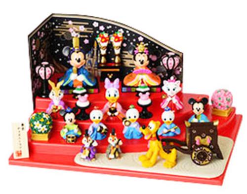 ひな祭り ミッキー・ミニーひな人形スペシャル