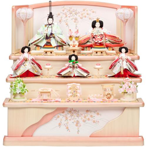 雛人形ひな人形三段飾り