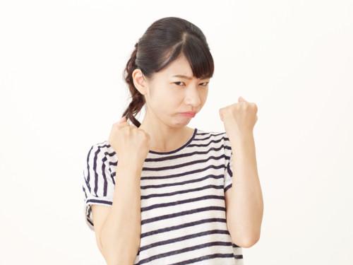 怒る 日本人
