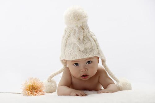 赤ちゃん 冬 室内