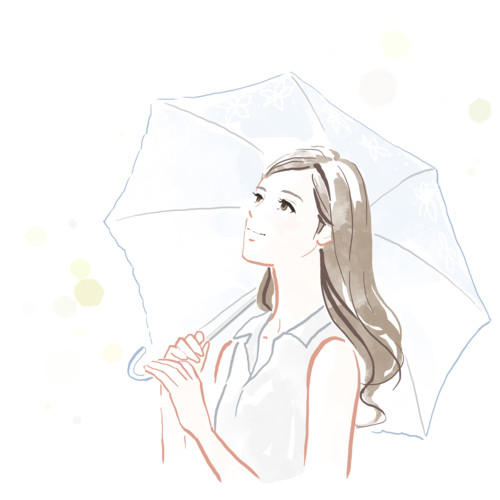 日傘 女性 傘