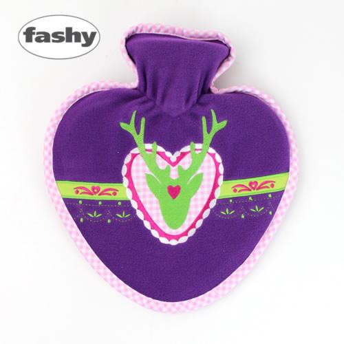 FASHY社 ハートヴァイオレット湯たんぽ