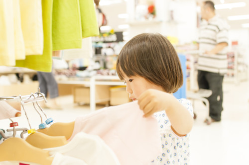 子供 買い物