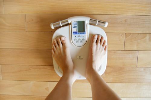体のむくみからくる体重増加