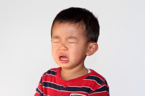 2歳児 泣く